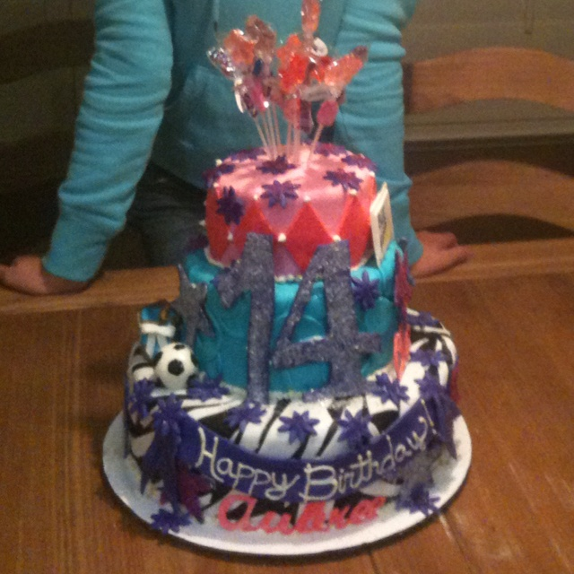 14th birthday cakes ideas