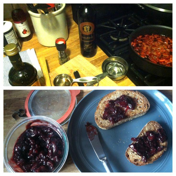CSA Strawberry, Red Wine, Balsamic, Black Pepper Jam. Best I've ever ...