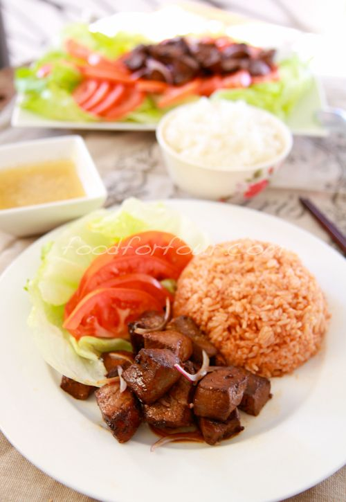 Bo Luc Lac / Vietnamese Shaking Beef Recipe (Food For Four)