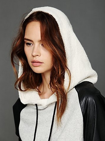 Free People hoodie   Not your boyfriend's sweatshirt   Pinterest