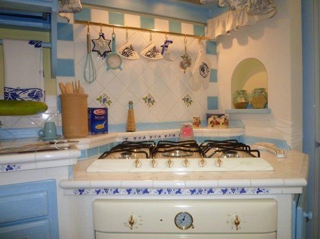 Cucine in muratura rustiche e moderne Kitchen Pinterest