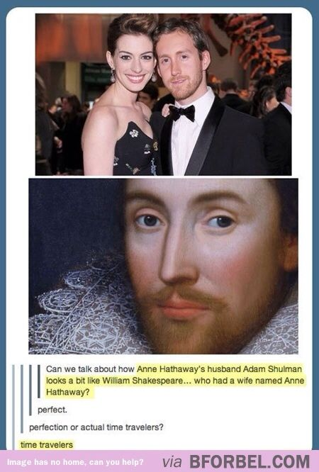 Anne Hathaway and her husband's secret. This canNOT be a coincidence