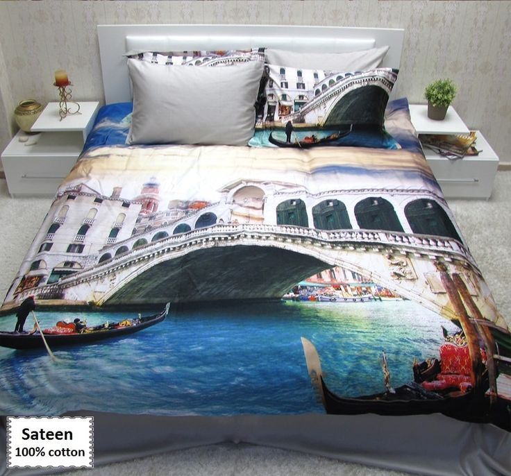Venice beach quilt cover