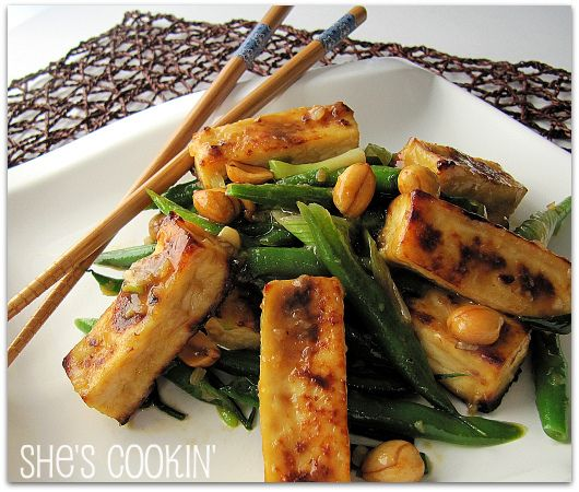 Kung Pao Tofu | asian deliciousness | Pinterest