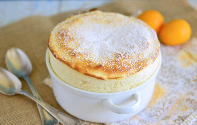 Meyer Lemon Souffle | The Little Ferraro Kitchen