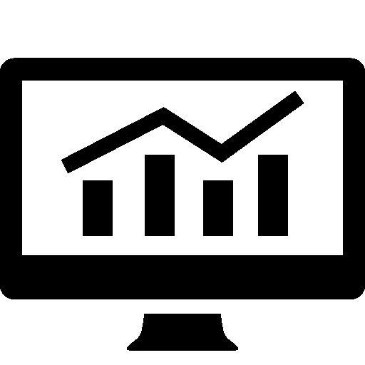 Analytics graphic on screen free icon | User interface | Pinterest: pinterest.com/pin/307511480778846108