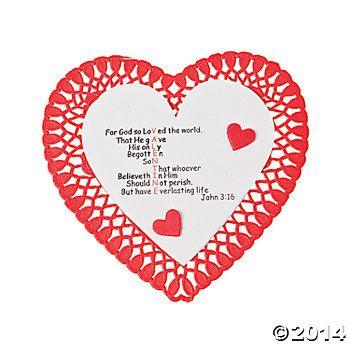 valentine john 3 16 crafts