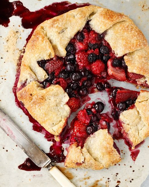 Mixed Berry Galette | Pin up your favourite recipes! | Pinterest
