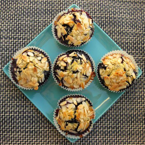 Blueberry-Almond Muffins | Tasty Treats | Pinterest