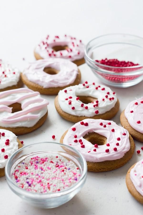 Gingerbread Donut Cookies! | How-To and DIY | Pinterest