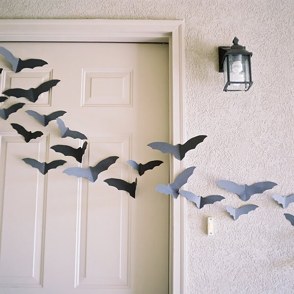 Bats for Halloween decoration!  Room Mom ideas  Pinterest ~ 041245_Halloween Decoration Ideas Bats