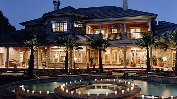 Tampa luxury homes lodge pool dream home pinterest for Luxury homes pictures