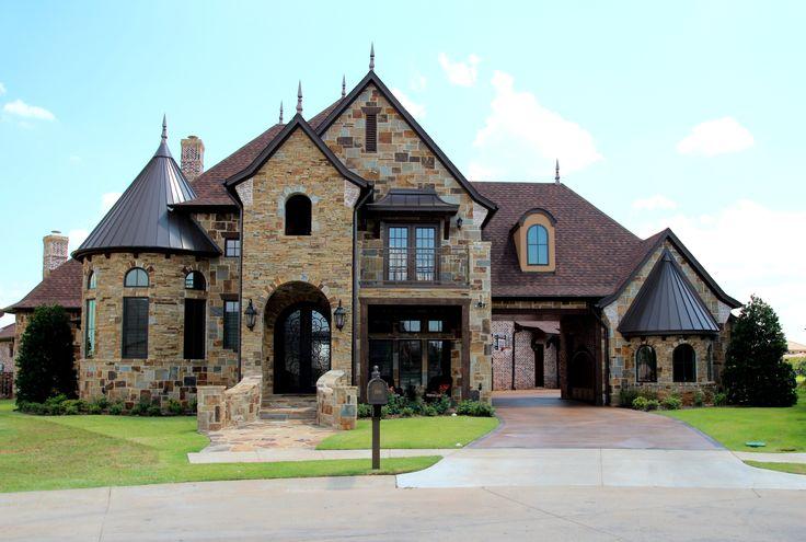Couto homes custom home exteriors pinterest for A e custom homes