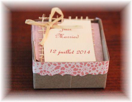 dragées mariage - décoration mariage romantique/vintage taupe / rose ...