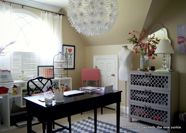 {Room Reveal} DIY-Filled Home Office