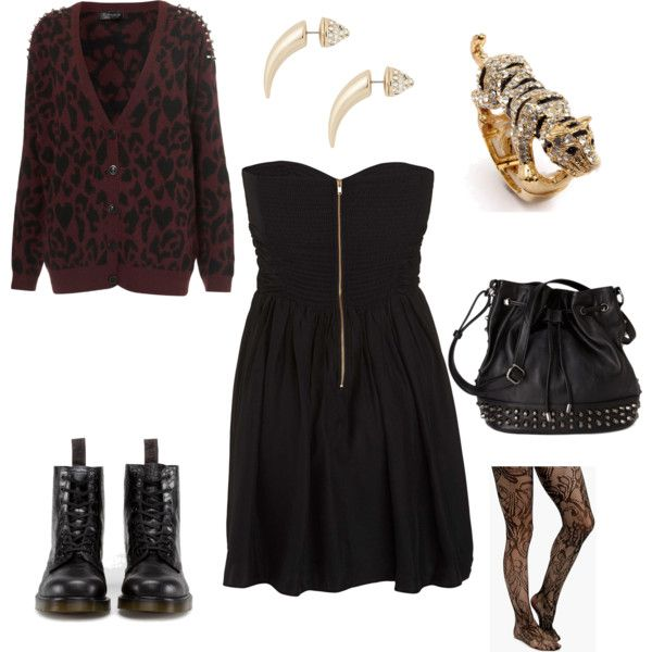 Fall Edgy Outfit | Clothes and Shoes and Stuff | Pinterest