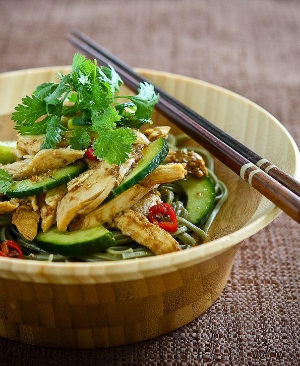 Asian Sesame Chicken Noodle Salad. | Great Food | Pinterest