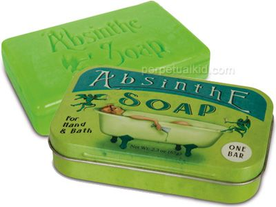 Absinthe Soap | The internet is for... Hey look! Cookies!! | Pinterest