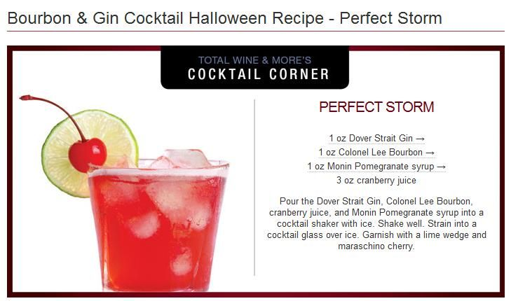 Perfect Storm cocktail via Total Wine | Drinks, Beverages, Spirits, B ...