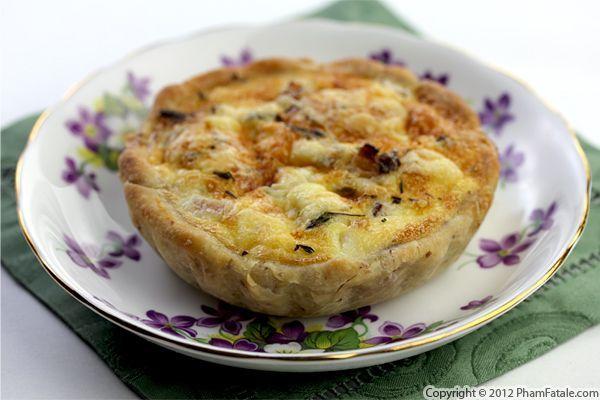 Quiche Lorraine Recipe ... just remove the crust and it's a delicious ...