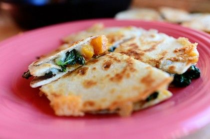 butternut squash amp kale quesadillas the pioneer woman cooks ree ...