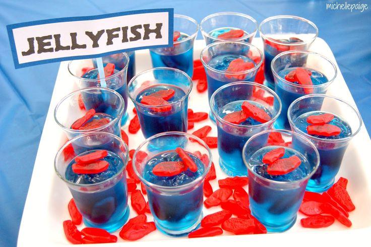 Sweedish Fish Jello cups