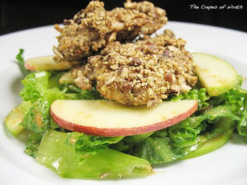 Pecan Crusted Chicken with Apple Salad | Savory & Satisfying | Pinter ...
