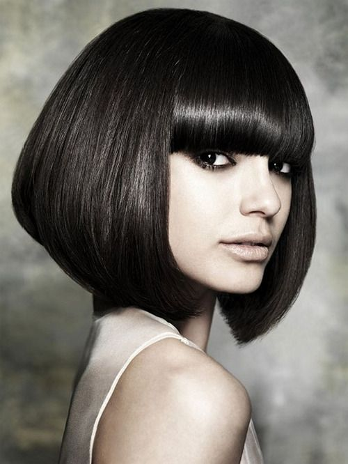 Edgy bob! | FASHION - Hair Styles & Accessories | Pinterest