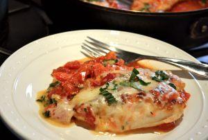 Easy Italian Chicken Skillet | FreeBird Chicken..yummy quick week ...