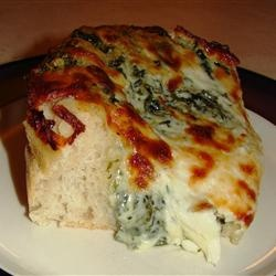 Deep Dish Alfredo Pizza Allrecipes.com | Awesome Food | Pinterest