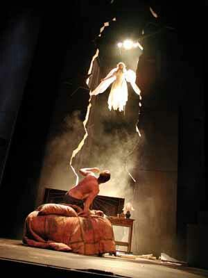 angels in america play essay It's pretty safe to say that angels in america is one of the most famous plays to explore the topic of homosexuality all of the major male characters in the play are.