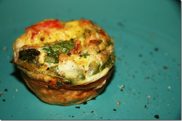 scrambled egg muffins -- for making and freezing when we have extra ...