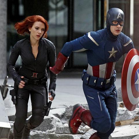 scarlett johansson and chris evans movies together  Scarlett Johansson and Chris