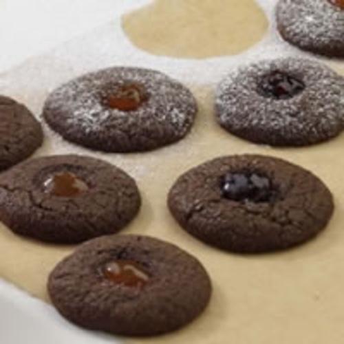 Chocolate Thumbprint Cookies | Baking Ideas: cakes and cupcakes | Pin ...