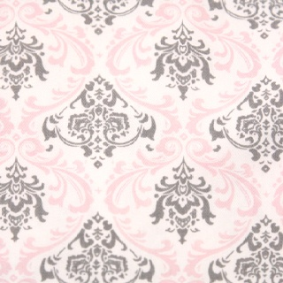 Gray and pink wallpaper my m m 39 s shared bedroom ideas for Pink and grey bedroom wallpaper