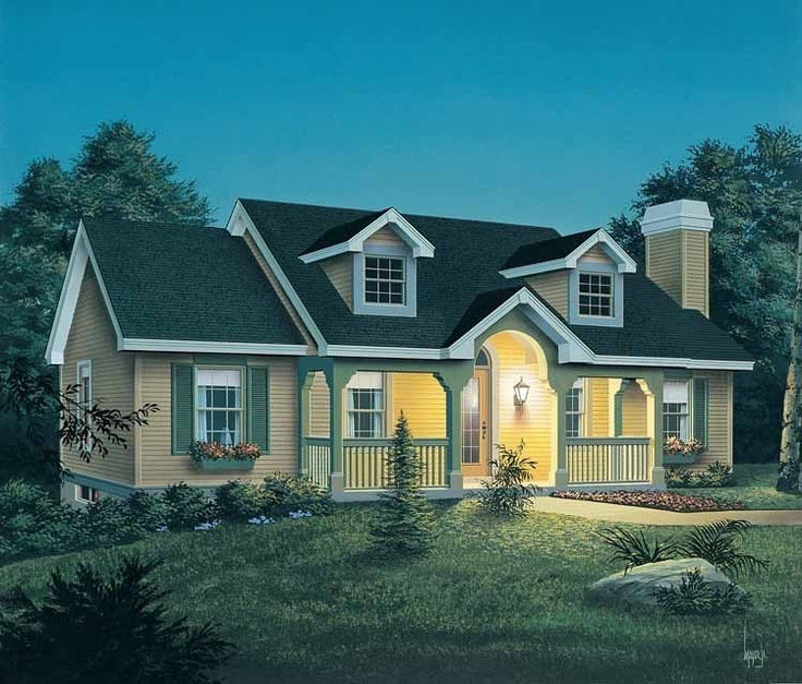 Country House Plan So Cute Our FIRST Home Pinterest