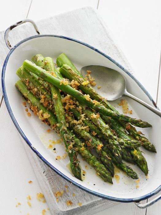 Asparagus, Breadcrumb & Parmesan