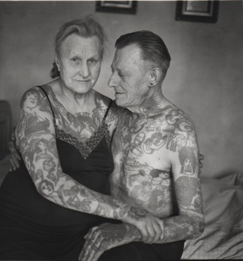 thats going to be me, old and tatted. :)