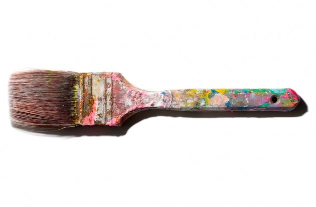andy warhol paintbrush in his anus