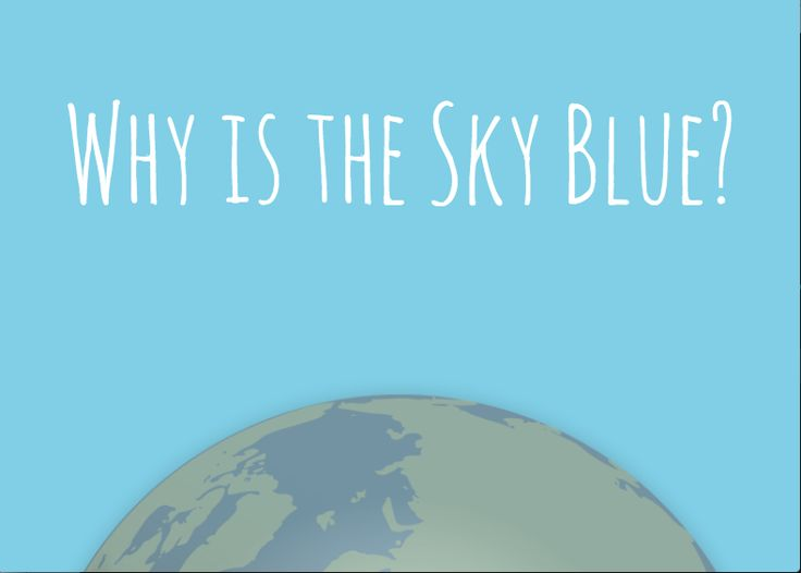 why is the sky blue essay question