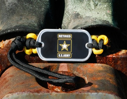 Make your backpack, briefcase, gym bag, luggage or any bag stand our from the masses with an Officially Licensed Retired U.S. Army™ Gear Tag in black and yellow! $12.95