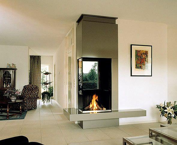 elegant fireplace on an outside corner fireplace ideas pinterest