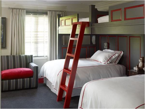 Key Interiors by Shinay: Bunk Rooms for Teenage Boys | For the Home