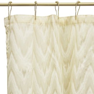 mesa flamestitch white 84 extra long fabric shower