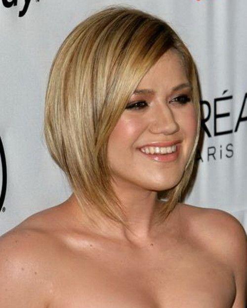 Kelly Clarkson Bob Haircut