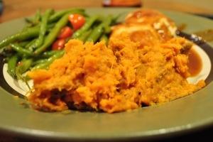 garlic mashed sweet potatoes | From my kitchen | Pinterest