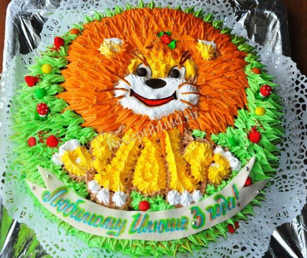 Заказ торта для 1 дня рождения