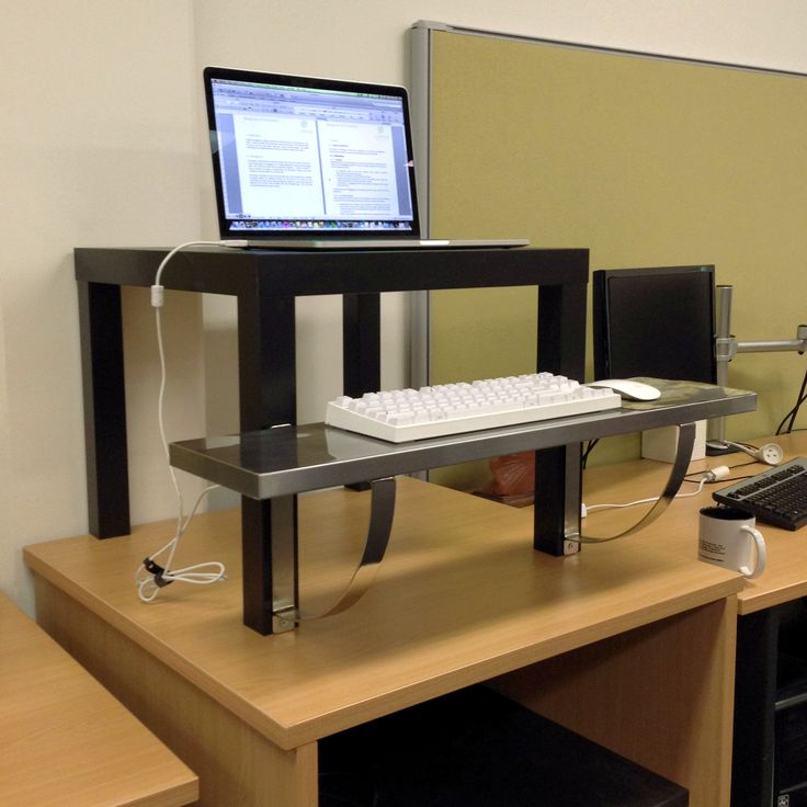 IKEA Standing Desk | All work and no play | Pinterest