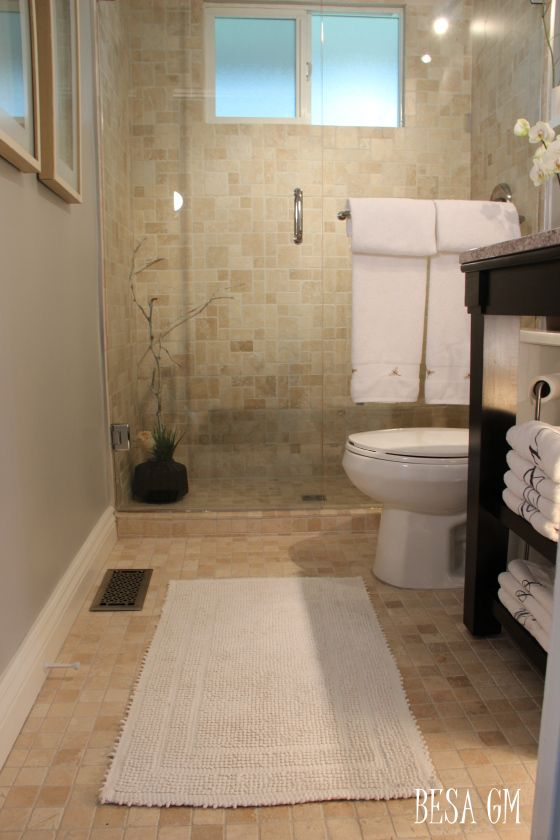 Small bathroom makeover for the home pinterest Small bathroom makeovers