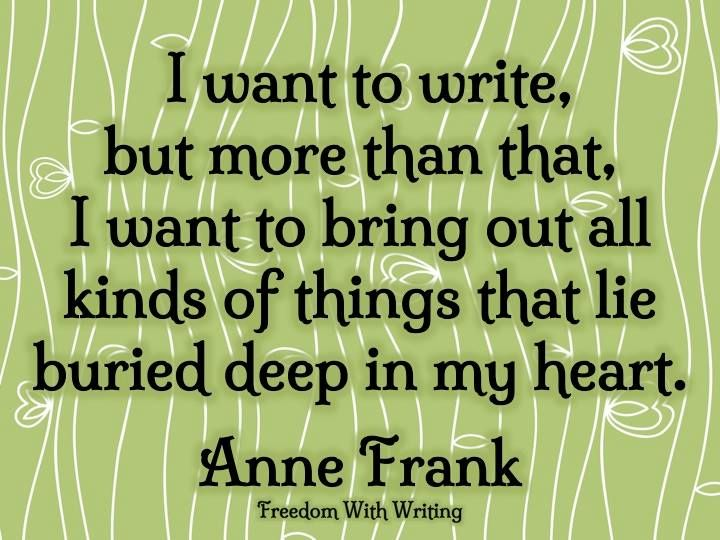 Term paper about anne frank